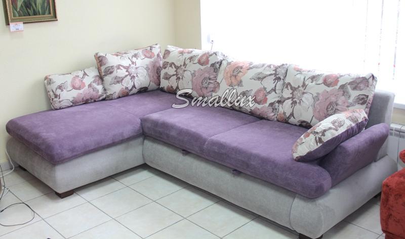Угловой диван - кровать Жаклин