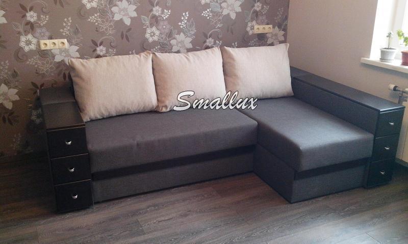 Угловой диван - кровать  Гранд (с выездными шухлядами 3 шт.)