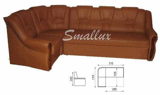 Угловой диван - кровать Омега 2